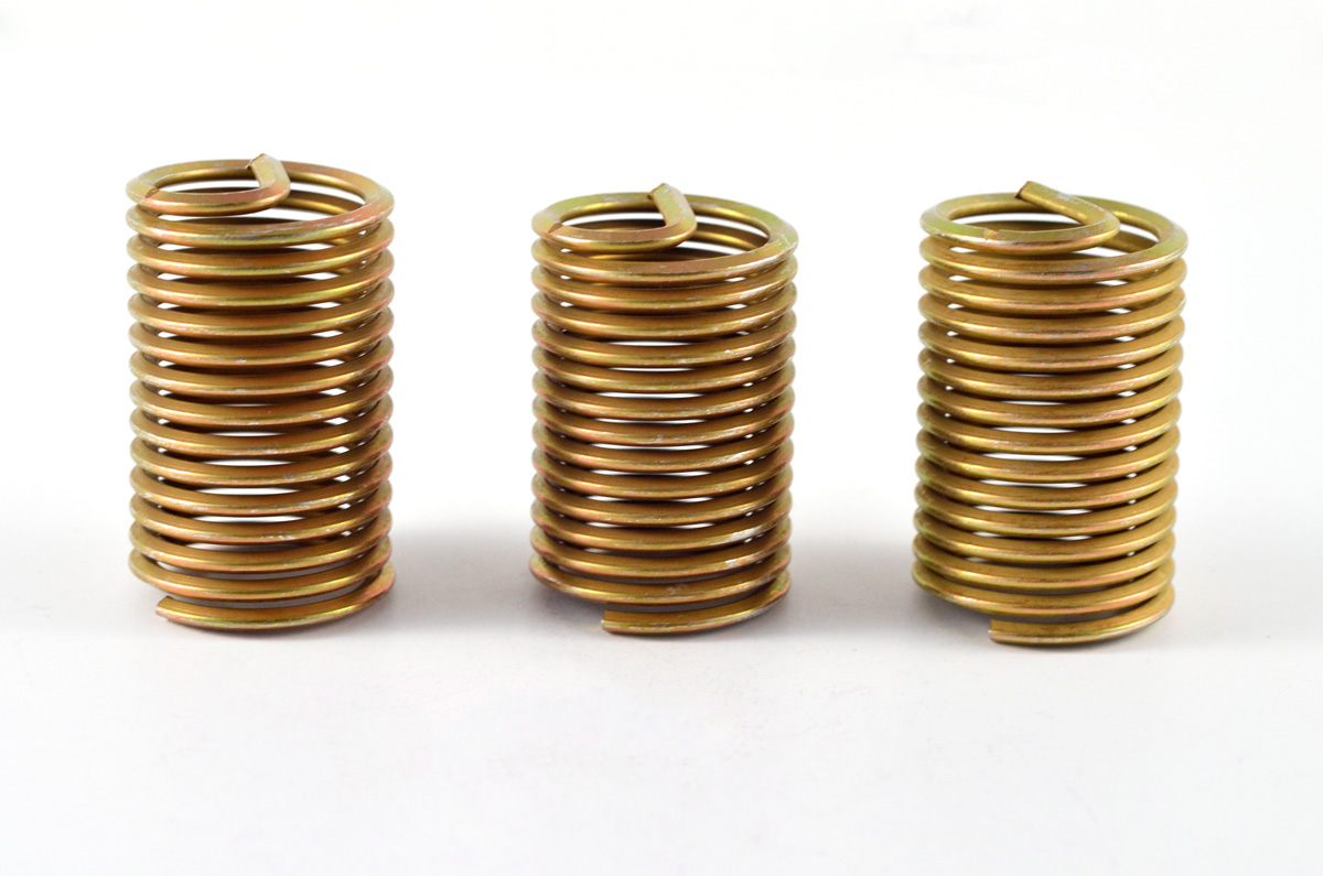 Helical Wire Screw Thread Inserts Phosphorus Bronze